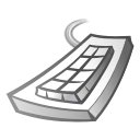 Keyboard DimGray icon