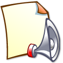 sound LightYellow icon