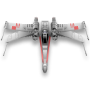 star wars, x-wing Black icon