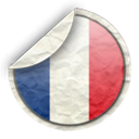 france, french, flag Black icon