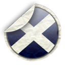 Scotland Black icon
