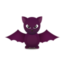 bat, Animal Black icon