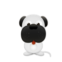 pet, dog, Animal Black icon