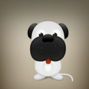 dog, Animal, pet Gray icon