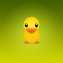Duck, twitter, Animal Olive icon