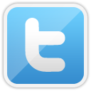 twitter, social network, Social, In LightSkyBlue icon