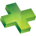 plus, more, cross YellowGreen icon