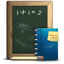 homework, math, school, student, geometry DarkSlateGray icon