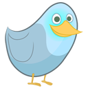 Animal, twitter, bird DimGray icon