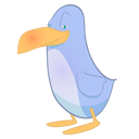 twitter, Animal, bird LightSlateGray icon