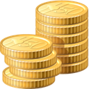 Business, Change, funding, payment, Money, Coins, Cash SandyBrown icon