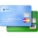 credit, payment, Credit card, card LightSkyBlue icon