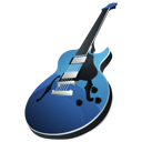 garageband, rock, guitar, music, Garage band, jazz, instrument Black icon