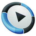mediaplayer Black icon