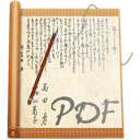 File, document, Acrobat, Pdf AntiqueWhite icon