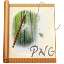 File, Png AntiqueWhite icon