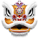 Dragon, Mask Black icon