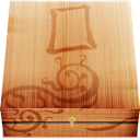 wooden, Box BurlyWood icon