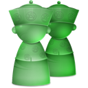 Users DarkSeaGreen icon
