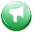 blog, Advetisement, announcement, notifications MediumSeaGreen icon