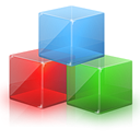 module, Modules, Cubes Black icon