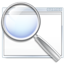 magnifying glass, search, zoom, Find Black icon