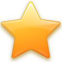 Favorite, bookmark, star Olive icon