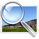search, zoom, image, magnifying glass, Find Black icon