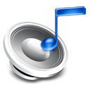 Audio Black icon