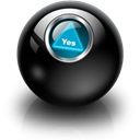 Magic8ball Black icon