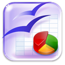 Calc, Openofficeorg, 20 Lavender icon