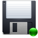 mount, 3floppy DarkSlateGray icon