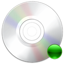 mount, Cdrom Black icon