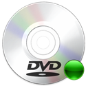 Dvd, mount Black icon