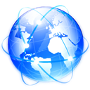 global, international, internet, earth, world, globe, planet, Browser, network DodgerBlue icon
