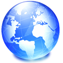 globe, Browser, earth, network, global, world, planet, international, internet DodgerBlue icon