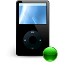 mount, Mp3player Black icon