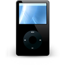 Mp3player, unmount Black icon