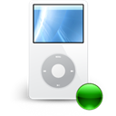 Mp3player, mount Black icon