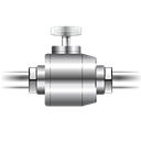 Pipe, plumbing, electrical, Construction, valve Icon