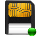 smartmedia, mount DarkSlateGray icon