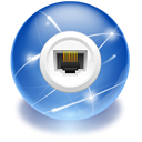 internet, Connect, network SteelBlue icon