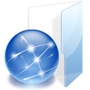 Folder, html SteelBlue icon