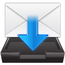inbox, Folder WhiteSmoke icon