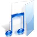 Folder, music, song Icon