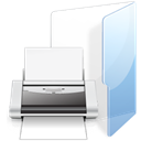 Print, Folder WhiteSmoke icon