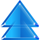 2uparrow DodgerBlue icon