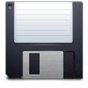 Filesave DarkSlateGray icon