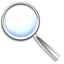 mail, magnifying glass, Find Icon