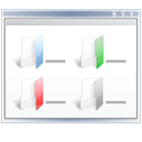 view, Multicolumn Snow icon